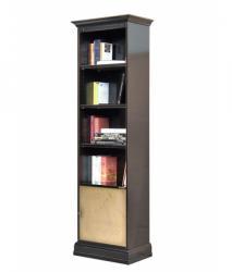 librería alta, librería de madera, Librería Arteferretto, Arteferretto muebles, librería lacada, librería ahorra espacio, librería de salón, librería de oficina