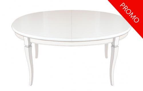 mesa ovalada de comedor, mesa extensible, mesa de comedor, mesa de madera, mesa de salón, mesa oval, mesa artesanal