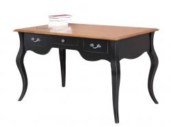 mesa de despacho bicolor, mesa de despacho clásica, mesa de madera, mesa de oficina, escritorio, escritorio bicolor,