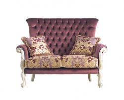 sofá clásico, mueble clásico, sofa acolchado